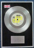 "UB40 and Chrissie Hynde - 7"" Platinum Disc - I Got You Babe"